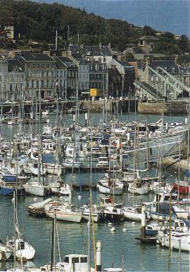 Le port de Saint-Valery